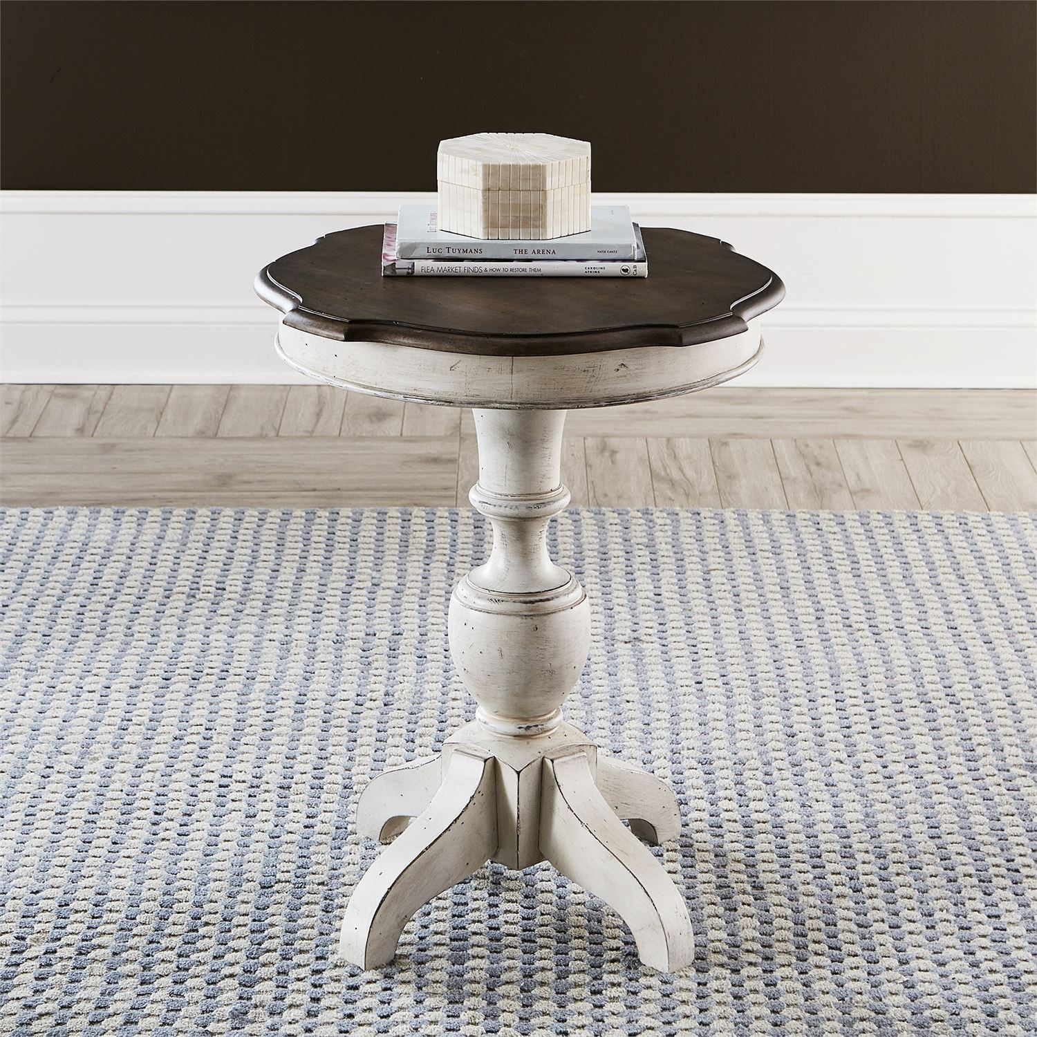 Abbey Road Round End Table by Liberty Furniture at Esprit Decor Home Furnishings