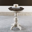 Liberty Furniture Abbey Road Round End Table - Item Number: 455W-OT1023