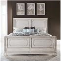 Liberty Furniture Abbey Road Queen Sleigh Bed - Item Number: 455W-BR-QSL
