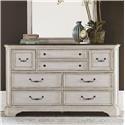 Liberty Furniture Abbey Road 8 Drawer Dresser - Item Number: 455W-BR31