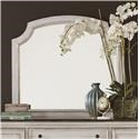 Liberty Furniture Abbey Road Arched Mirror - Item Number: 455W-BR51