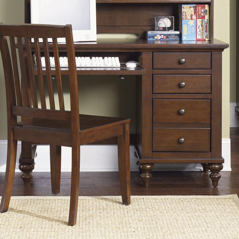Liberty Furniture Abbott Ridge Youth Bedroom Student Desk Base - Item Number: 277-BR70B
