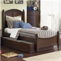 Liberty Furniture Abbott Ridge Youth Bedroom Full Panel Bed - Item Number: 277-YBR-SET58