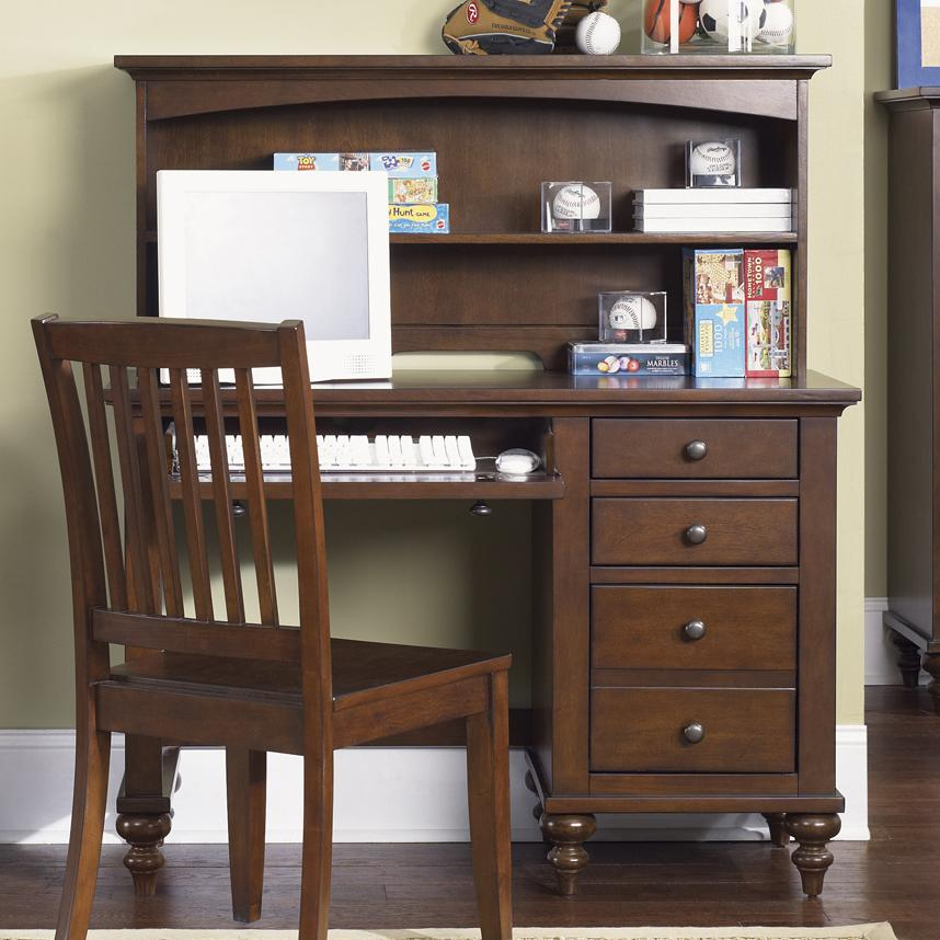 Liberty Furniture Abbott Ridge Youth Bedroom Student Desk - Item Number: 277-YBR-SET85