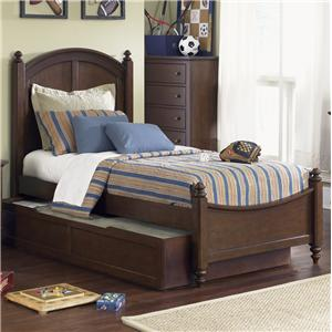 Liberty Furniture Abbott Ridge Youth Bedroom Twin Panel Bed