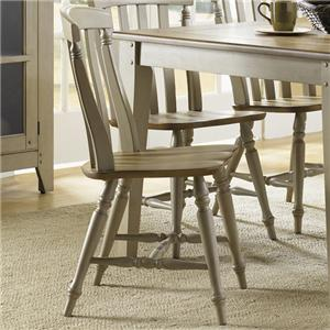 Liberty Furniture Al Fresco Slat Back Side Chair
