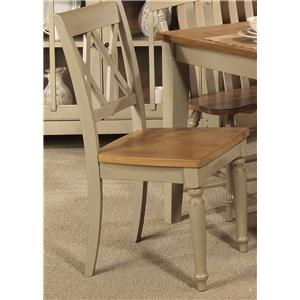 Liberty Furniture Al Fresco Double X-Back Side Chair