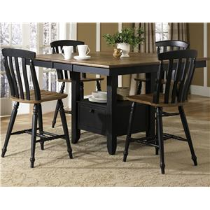 Liberty Furniture Al Fresco II 5 Piece Gathering Table and Chairs Set  sc 1 st  Dinette Depot & Table and Chair Sets | Brookfield Danbury Newington Hartford ...
