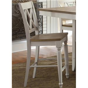 Liberty Furniture Al Fresco III Double X-Back Counter Chair