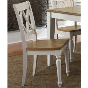 Vendor 5349 Al Fresco III Double X-Back Side Chair