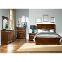 Liberty Furniture Alexandria Queen Bedroom Group - Item Number: 722-BR-GP30