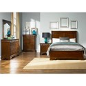 Liberty Furniture Alexandria King Bedroom Group - Item Number: 722-BR-KSLDMCN