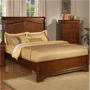 Liberty Furniture Alexandria Queen Sleigh Bed