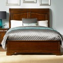 Vendor 5349 Alexandria Queen Sleigh Bed - Item Number: 722-BR21H+14+72
