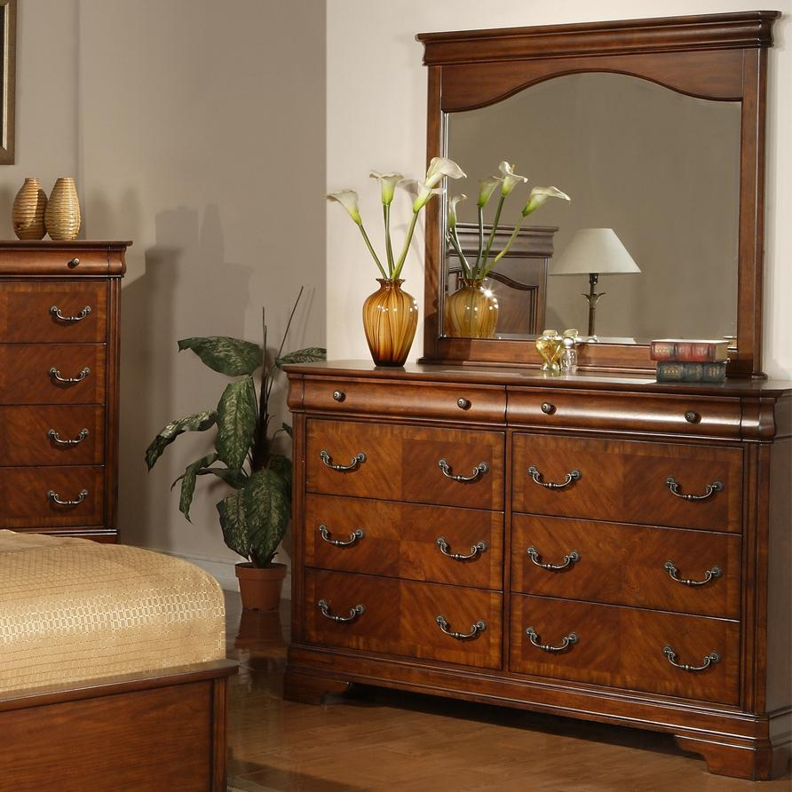 Liberty Furniture Alexandria Dresser and Mirror - Item Number: 722-BR31+51