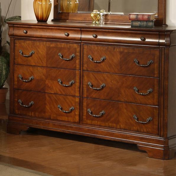 Liberty Furniture Alexandria 8 Drawer Dresser - Item Number: 722-BR31
