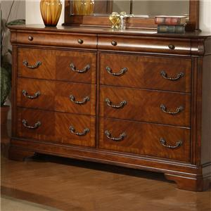Vendor 5349 Alexandria 8 Drawer Dresser