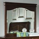 Liberty Furniture Alexandria Landscape Mirror - Item Number: 722-BR51