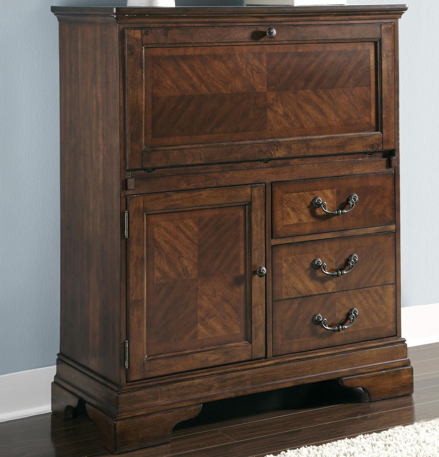 Liberty Furniture Alexandria Computer Cabinet - Item Number: 722-HO108