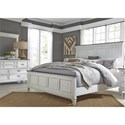 Liberty Furniture Allyson Park King Bedroom Group - Item Number: 417-BR-KPBDM