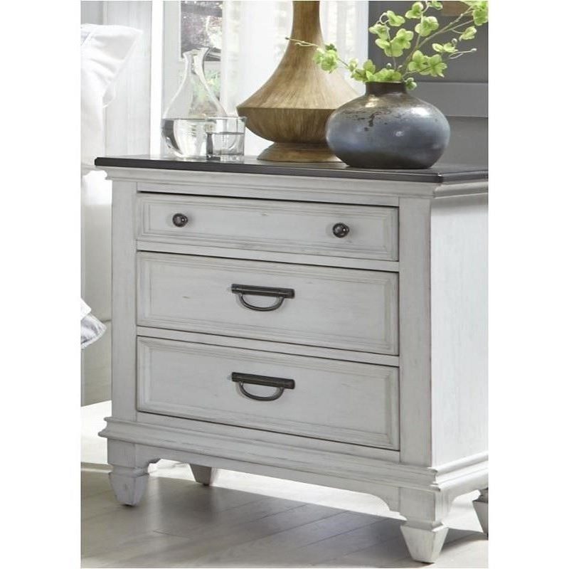 Liberty Furniture Allyson Park Night Stand - Item Number: 417-BR61