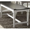 Liberty Furniture Allyson Park Dining Bench - Item Number: 417-C9000B