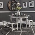 Liberty Furniture Allyson Park 3 Piece Set - Item Number: 417-DR-3PCS