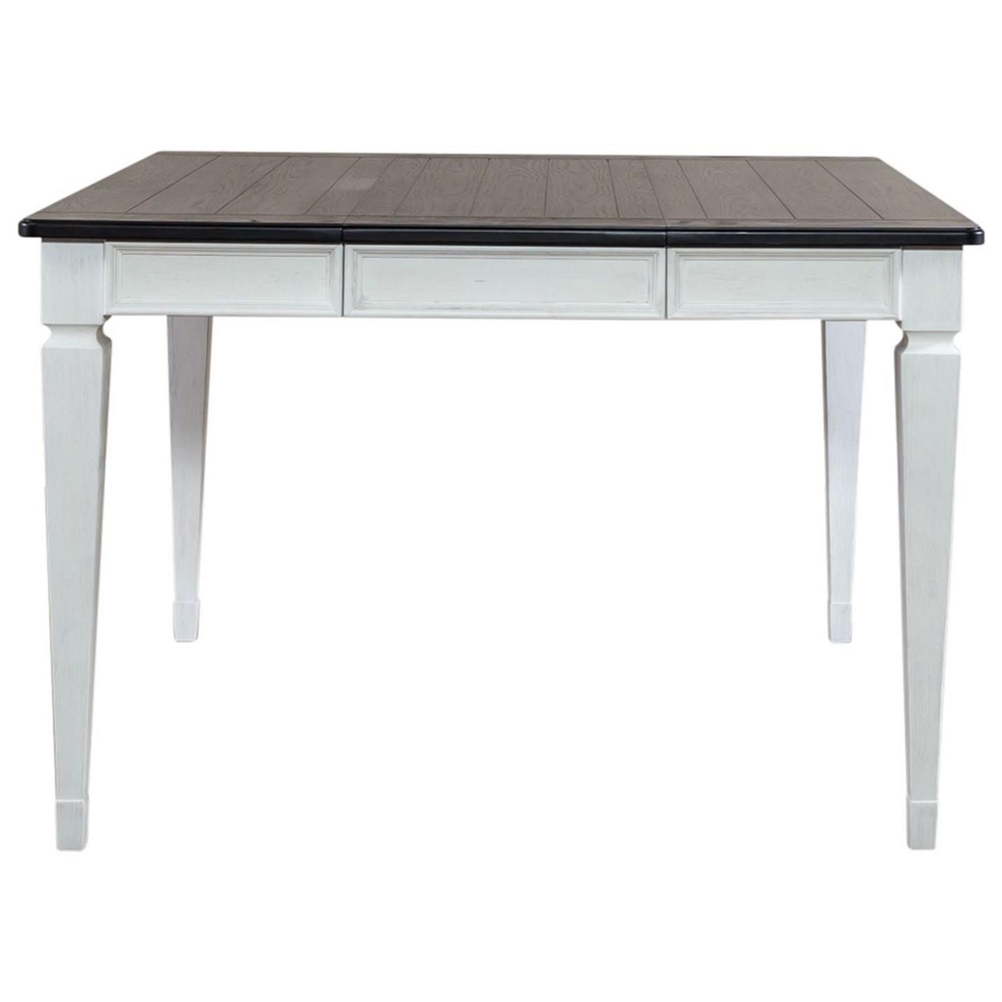 Allyson Park Counter Height Leg Table by Liberty Furniture at Furniture and ApplianceMart