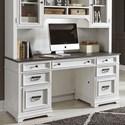 Liberty Furniture Allyson Park Credenza - Item Number: 417-HO120B+T