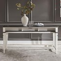 Liberty Furniture Allyson Park Console Bar Table - Item Number: 417-OT7637