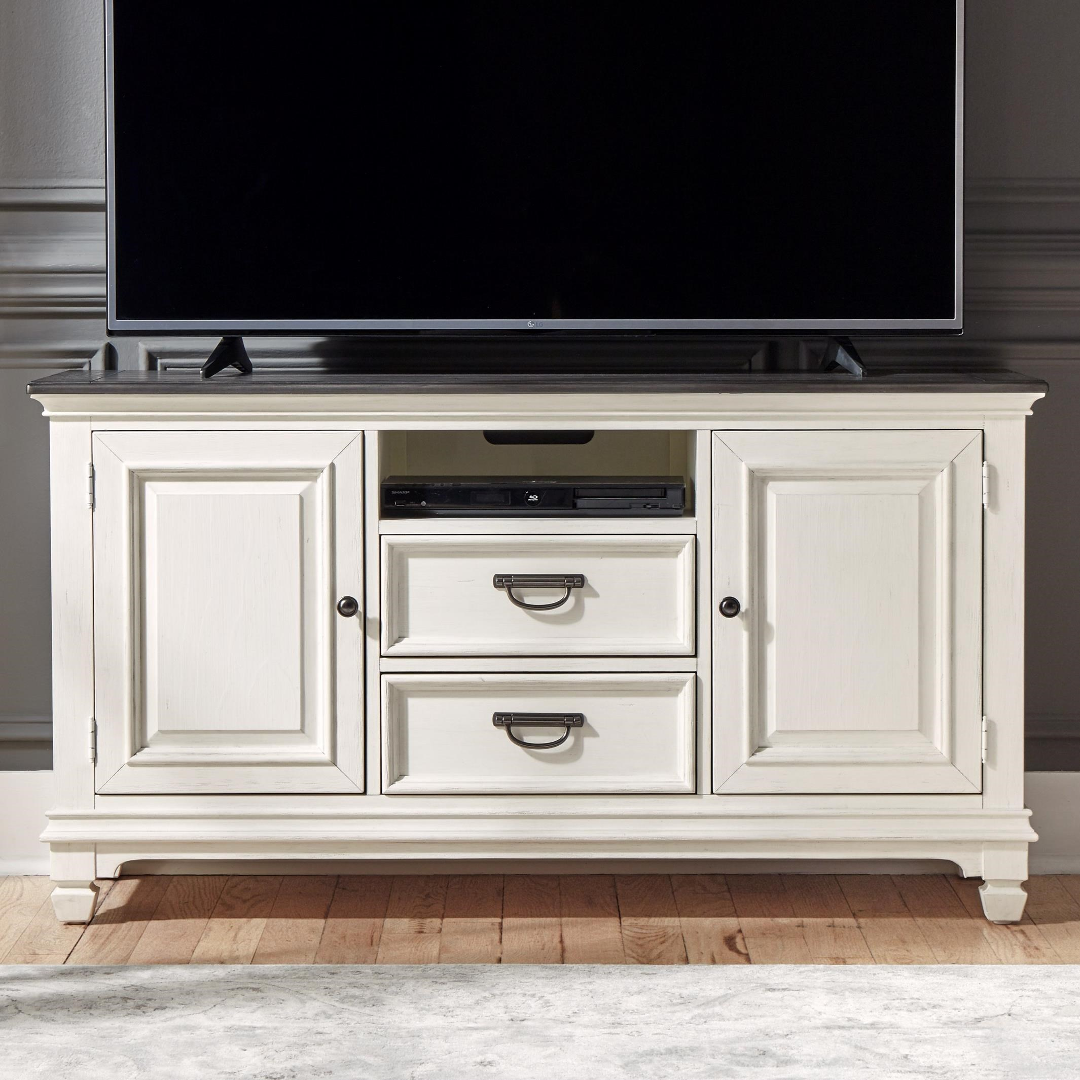 "Allyson Park 56"" TV Console by Liberty Furniture at Van Hill Furniture"