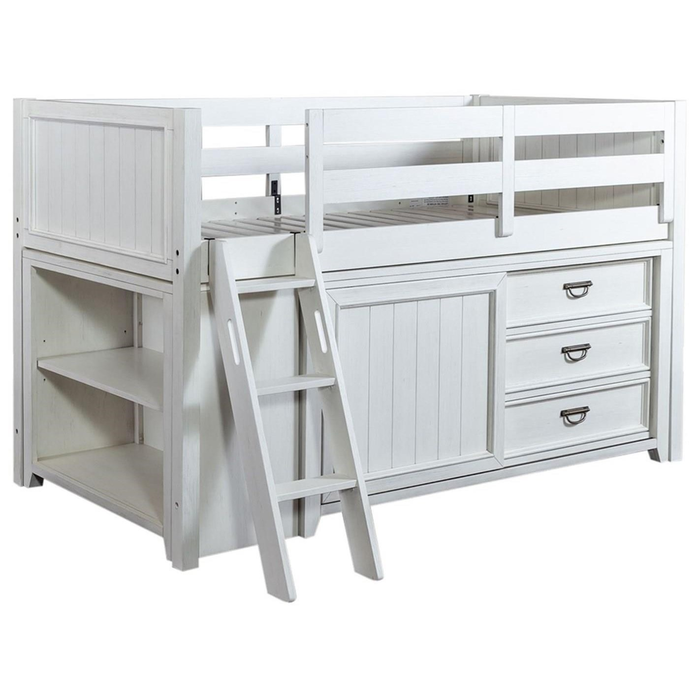 Allyson Park Twin Loft Bed by Liberty Furniture at Furniture and ApplianceMart