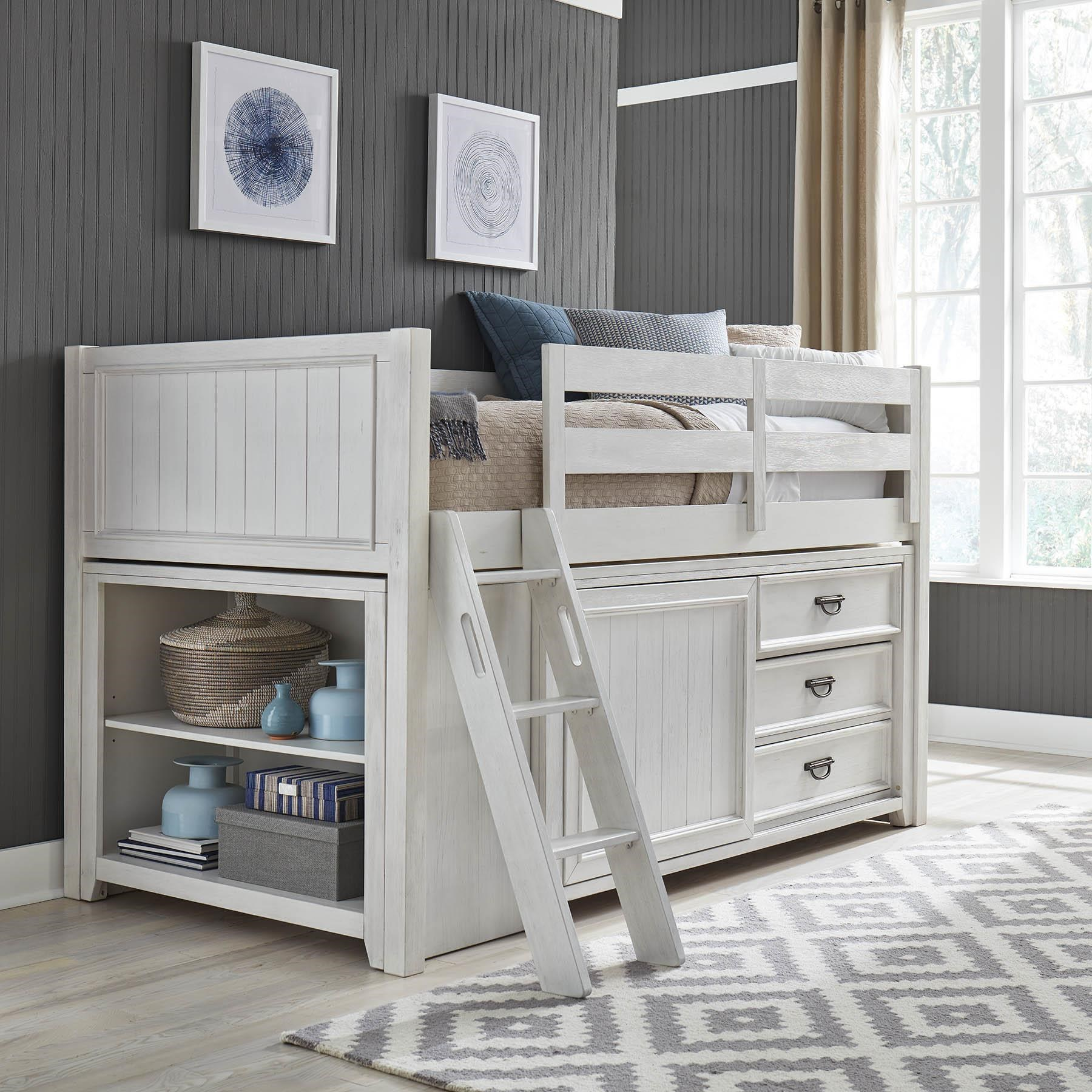 Allyson Park Twin Loft Bed by Liberty Furniture at Darvin Furniture