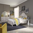 Liberty Furniture Amelia Court Queen Bedroom Group - Item Number: 846-BR-QPBDMC