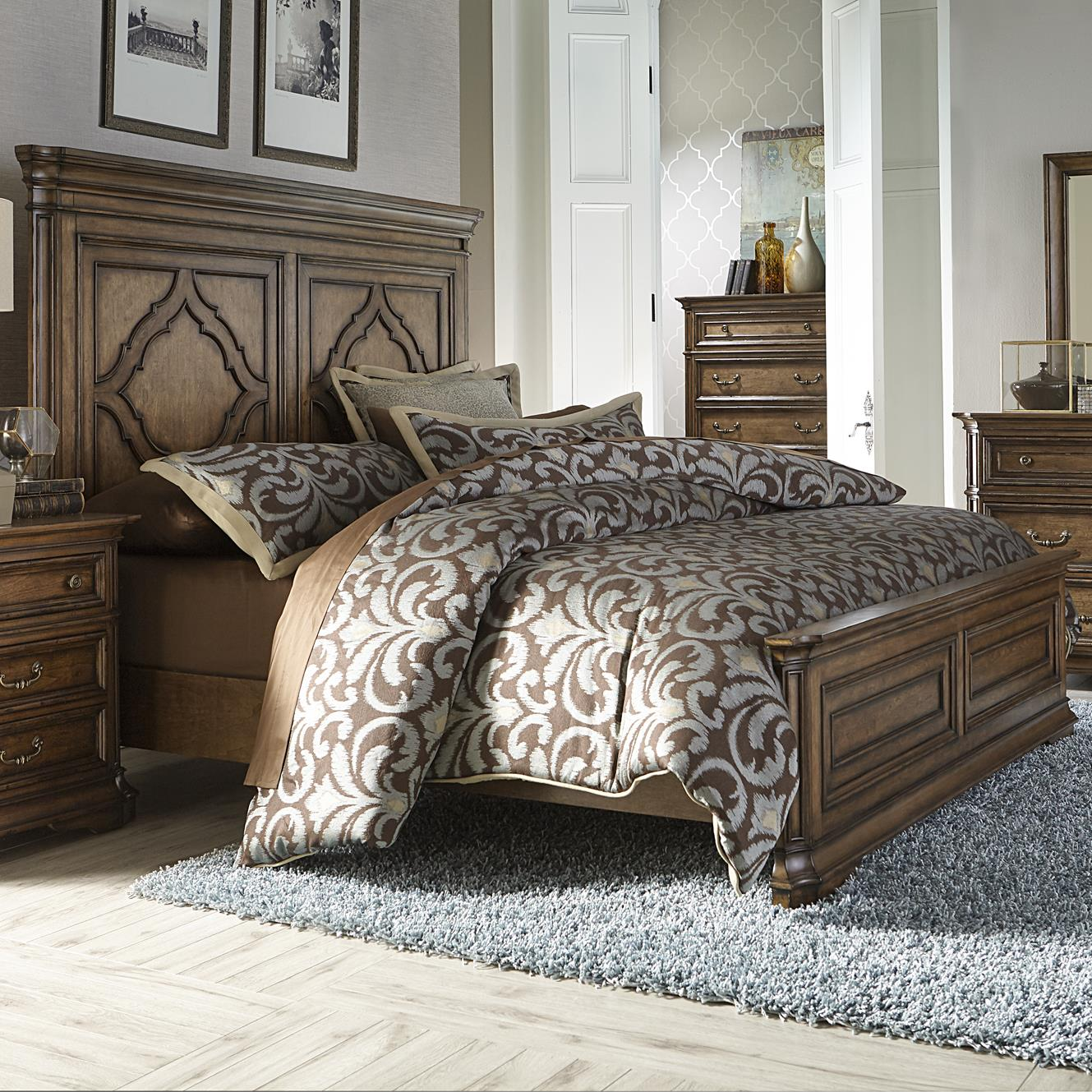 Liberty Furniture Amelia King Panel Bed - Item Number: 487-BR-KPB