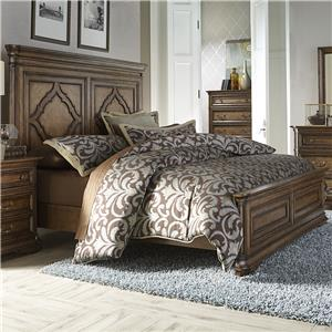 Vendor 5349 Amelia King Panel Bed