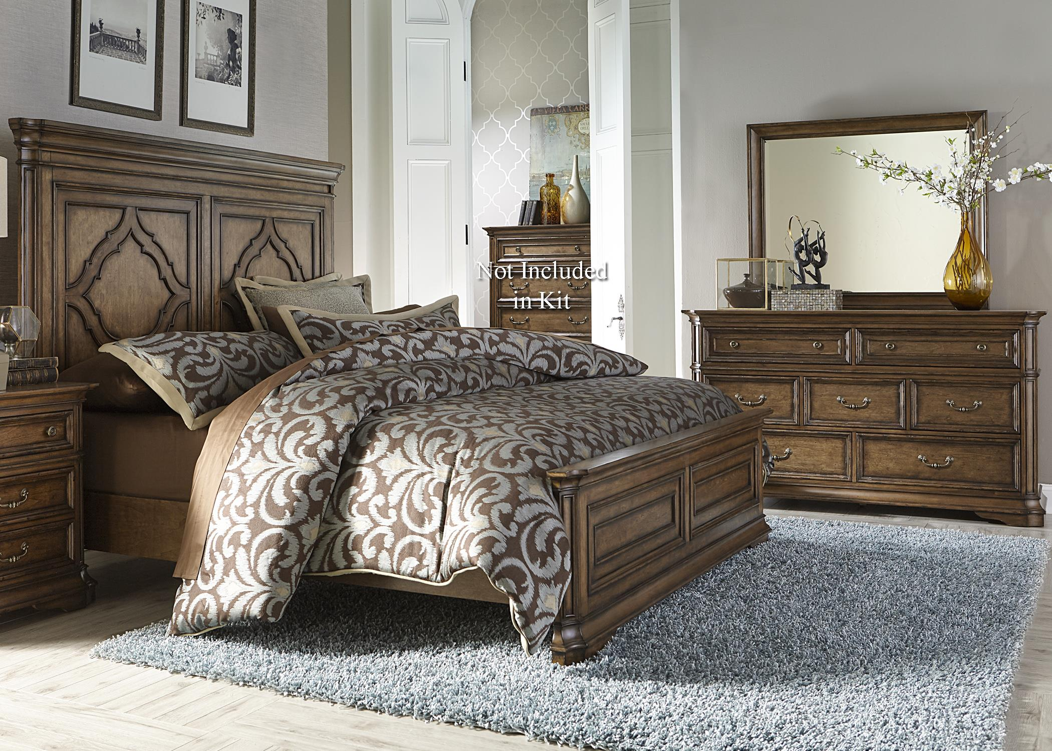 Liberty Furniture Amelia King Bedroom Group - Item Number: 487-BR-KPBDM