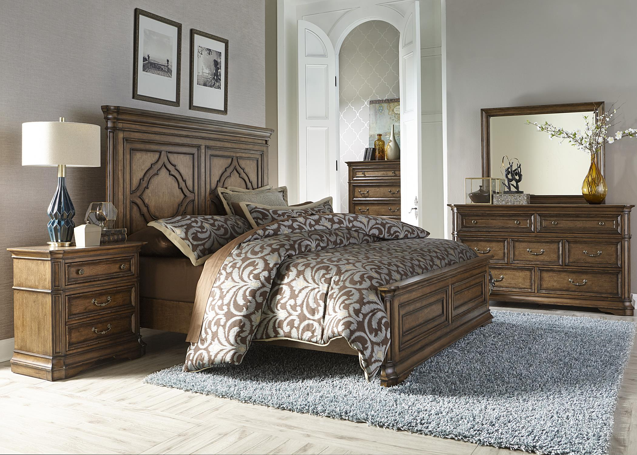 Liberty Furniture Amelia King Bedroom Group Wayside Furniture