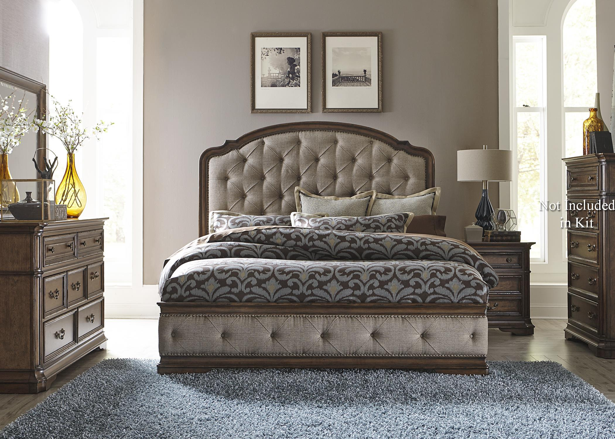 Liberty Furniture Amelia 487-BR-KUBDMN King Bedroom Group | Great ...