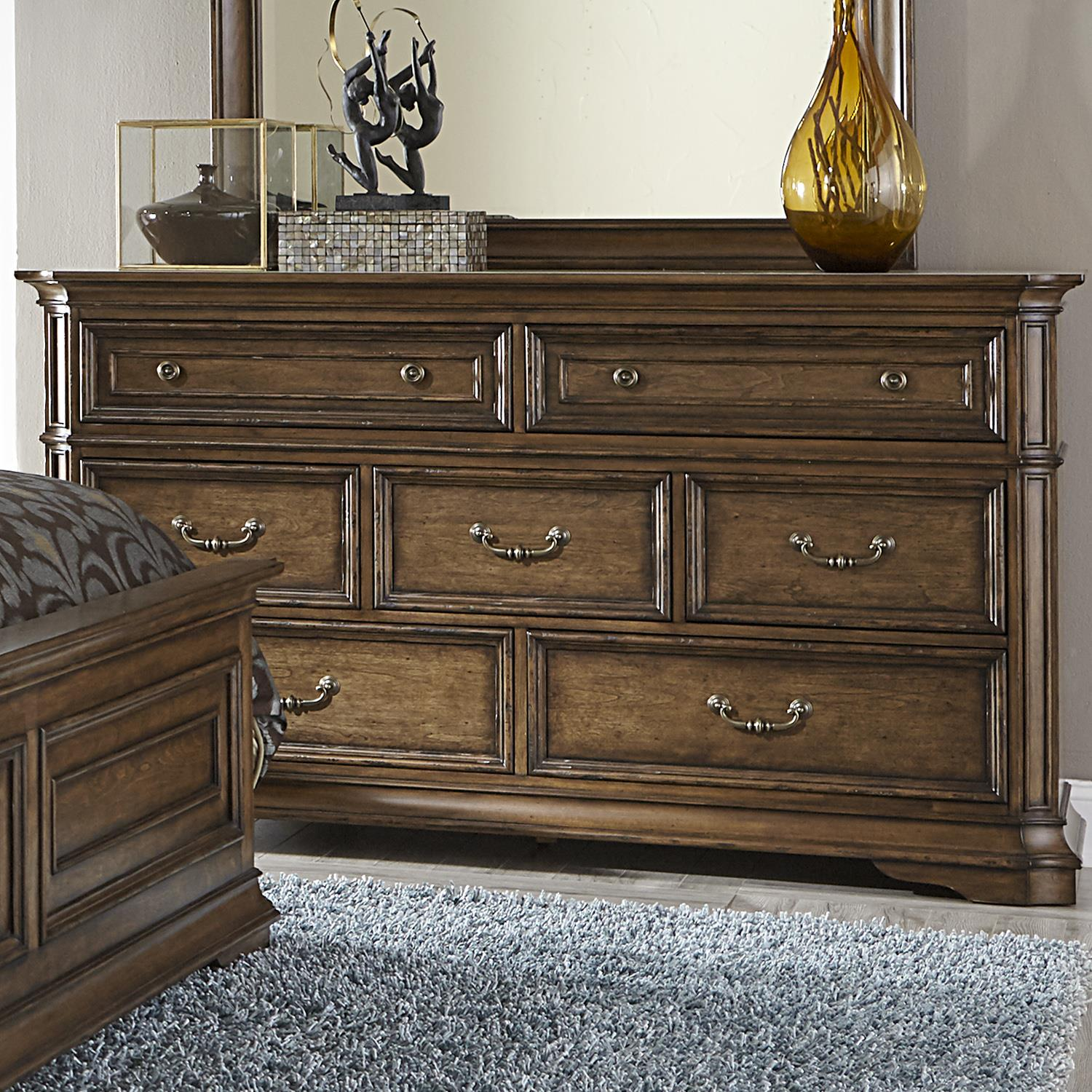 Liberty Furniture Amelia 7-Drawer Dresser - Item Number: 487-BR31