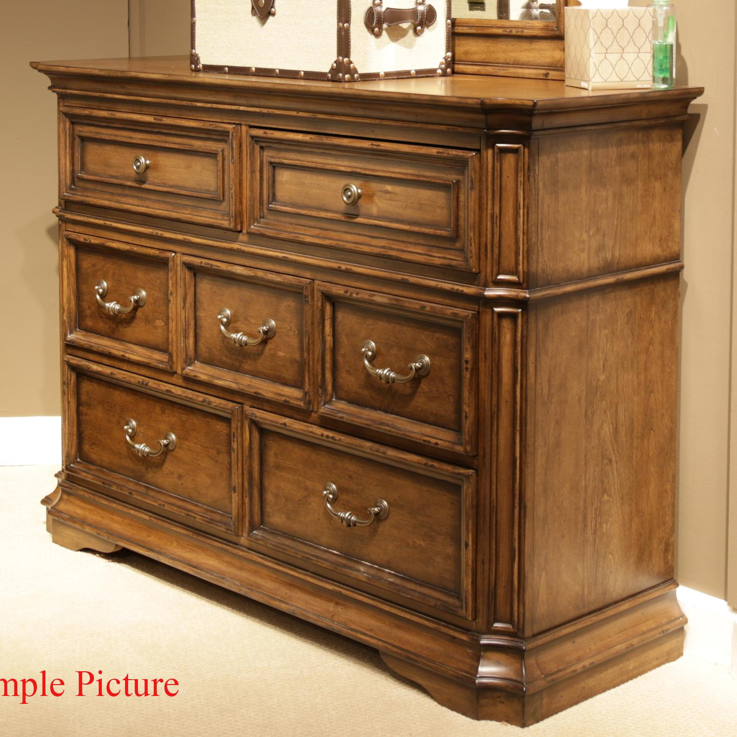 Liberty Furniture Amelia Media Dresser - Item Number: 487-BR45