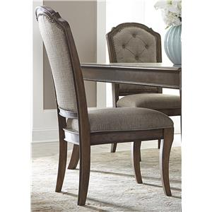 Liberty Furniture Amelia Dining RTA Upholstered Side Chair