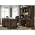 Liberty Furniture Amelia Home Office 5 Piece Jr Executive Set  - Item Number: 487-HOJ-5JES