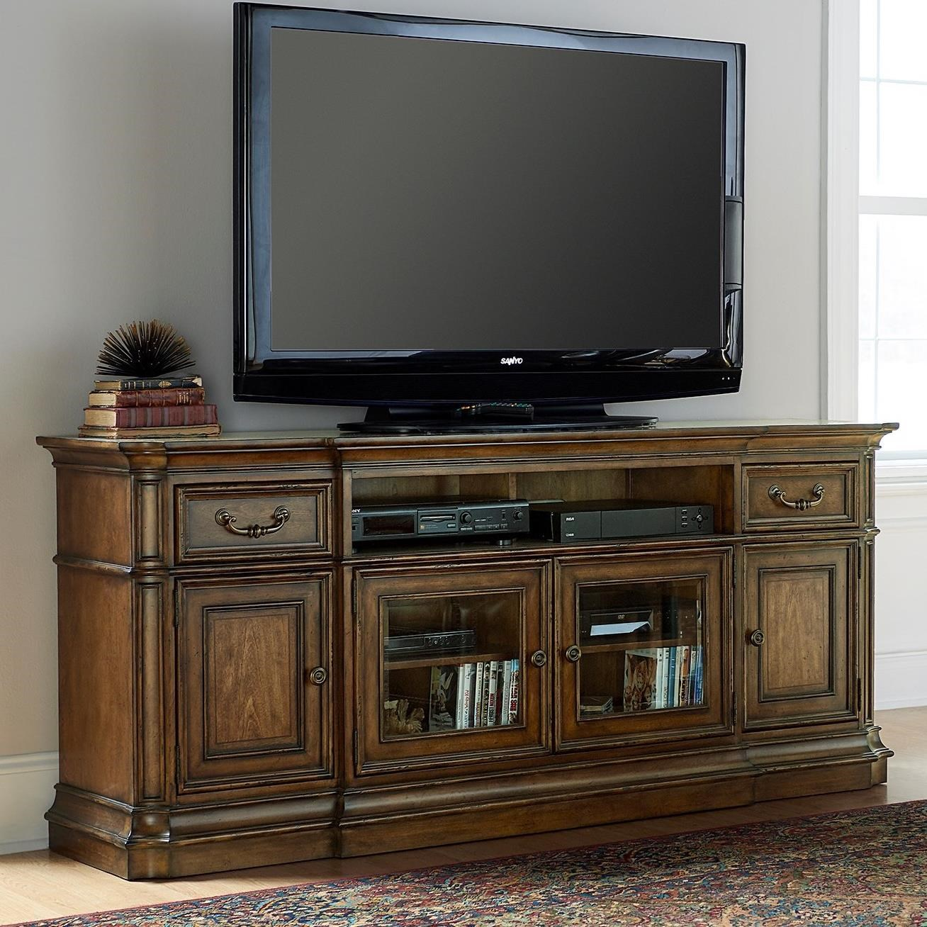 Liberty Furniture Amelia Entertainment Entertainment TV Stand - Item Number: 487-TV73