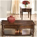 Vendor 5349 Andalusia 3-Piece Occasional Table Set  - Item Number: 259-OT-SET05