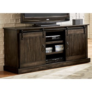 "Liberty Furniture Appalachian Trails 62"" TV Console"