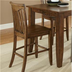 Liberty Furniture Arbor Hills Slat Back Counter Chair