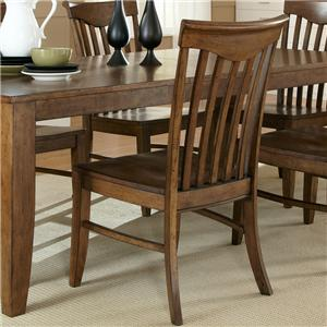 Liberty Furniture Arbor Hills Slat Back Chair