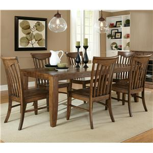 Liberty Furniture Arbor Hills 7-Piece Dining Set
