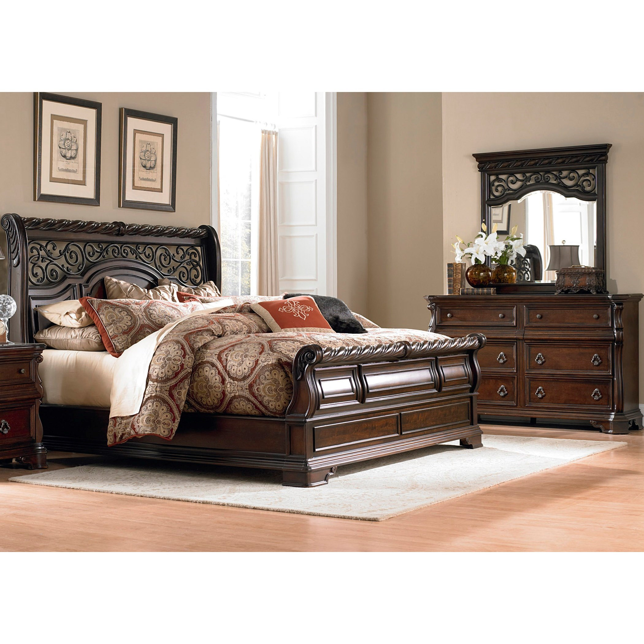 Arbor Place King Bedroom Group by Liberty Furniture at Catalog Outlet